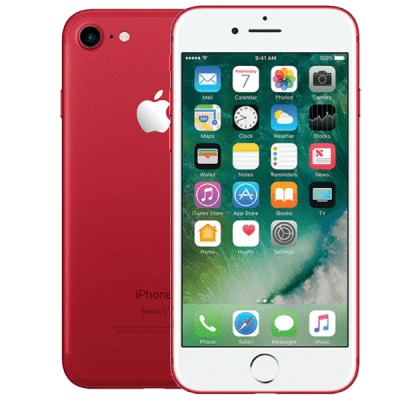 Apple iPhone 7 256GB Red 12 months contract