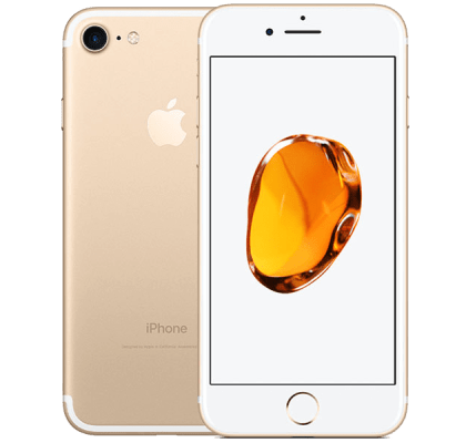 Apple iPhone 7 Gold Beauty and Hair