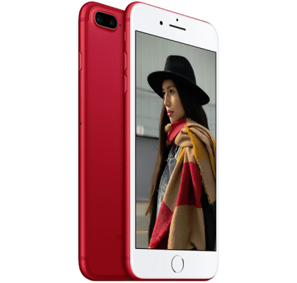 Apple iPhone 7 Plus 256GB Red 12 months contract