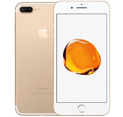 Apple iPhone 7 Plus 128GB Gold GiffGaff 500 mins & Unltd text with 3GB data for £106.82 (6m)