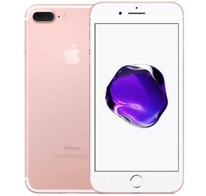 Apple iPhone 7 Plus Rose Gold O2 Unltd Allowances for £43 (24m)