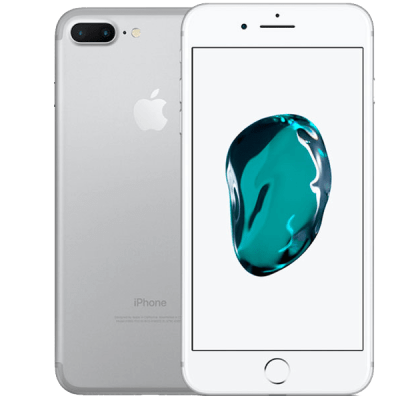 Apple iPhone 7 Plus Silver Giff Gaff Contract
