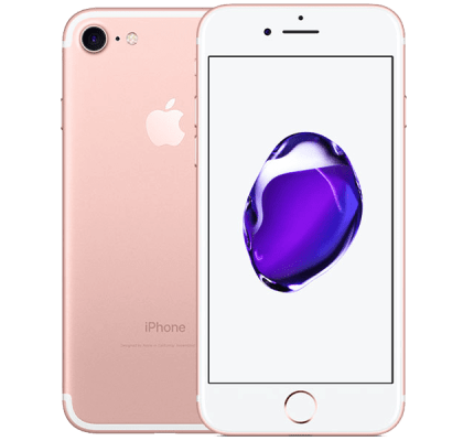 Apple iPhone 7 128GB Rose Gold O2 Unltd Allowances for £43 (24m)