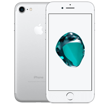 Apple iPhone 7 Silver Amazon Echo Dot