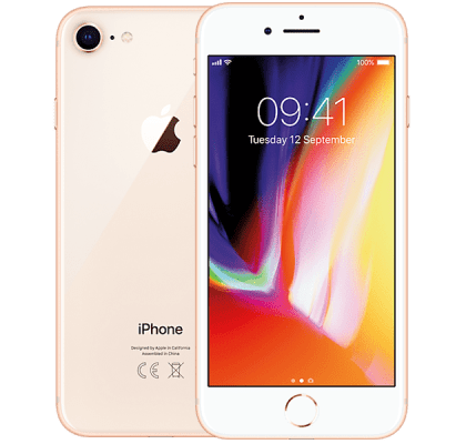 Apple iPhone 8 256GB Gold O2 Unltd Allowances for £0 (0m)