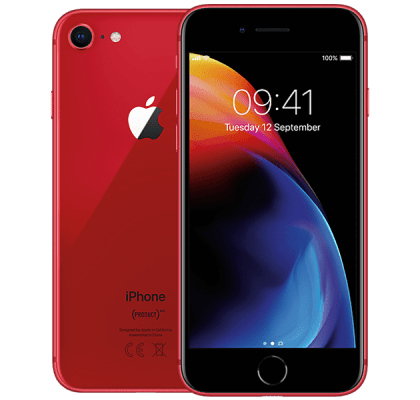 Apple iPhone 8 256GB Red Guaranteed Cashback