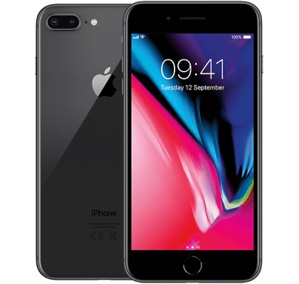 Apple iPhone 8 Plus GiffGaff Unltd Allowances for £25 (1m)