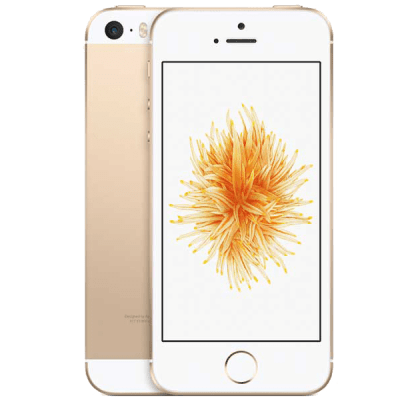 Apple iPhone SE Gold Three Mobile Contract