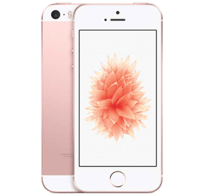 Apple iPhone SE Rose Gold Three Mobile Contract