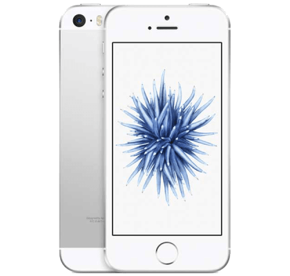 Apple iPhone SE Silver Beauty and Hair