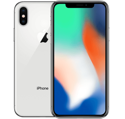 Apple iPhone X 256GB Silver 6 months contract