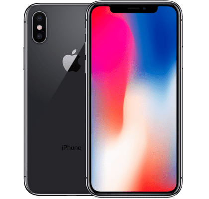 Apple iPhone X 256GB 12 months contract