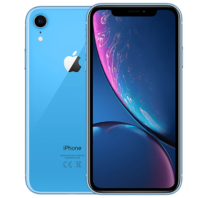 Apple iPhone XR 128GB Blue Vodafone Unltd Allowances for £24 (24m)