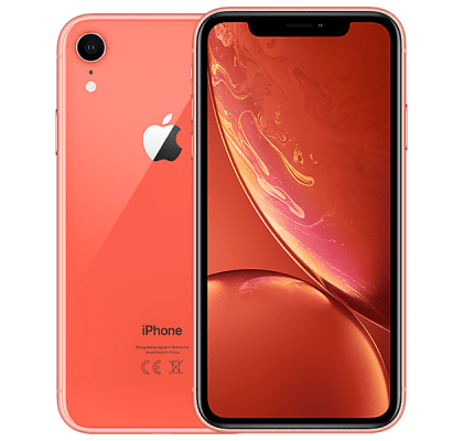 Apple iPhone XR 128GB Coral O2 Unltd Allowances for £0 (0m)