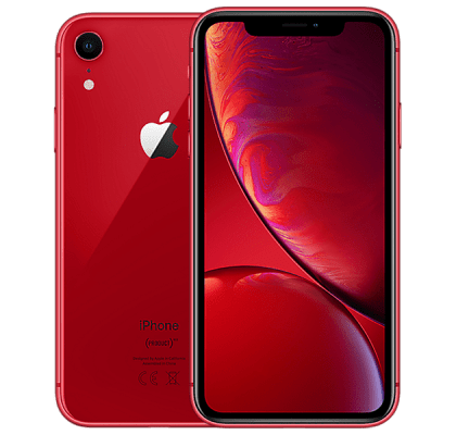 Apple iPhone XR 128GB Red O2 Unltd Allowances for £25 (24m)