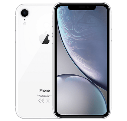 Apple iPhone XR 128GB White O2 Mobile Contract