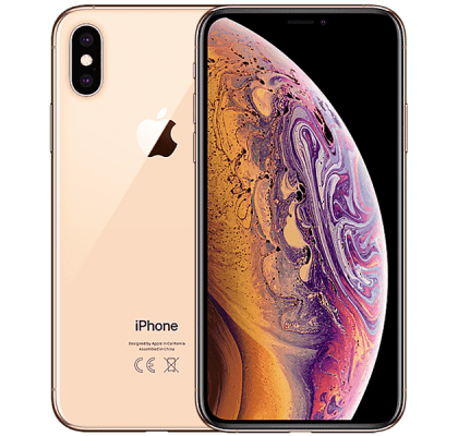 Apple iPhone XS 256GB Gold GiffGaff Unltd Allowances for £25 (1m)