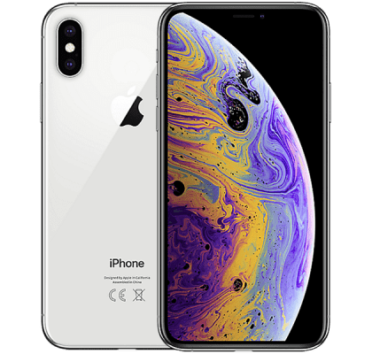 Apple iPhone XS Max 512GB Silver O2 Mobile Contract