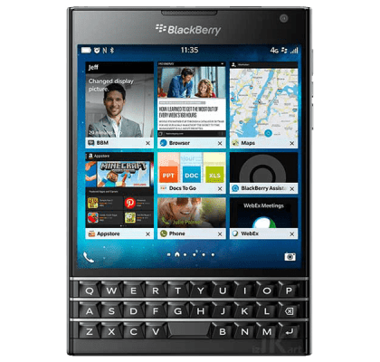 Blackberry Passport 49 inch LG LED Smart TV