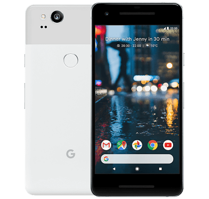 Google Pixel 2 White iD Mobile Contract