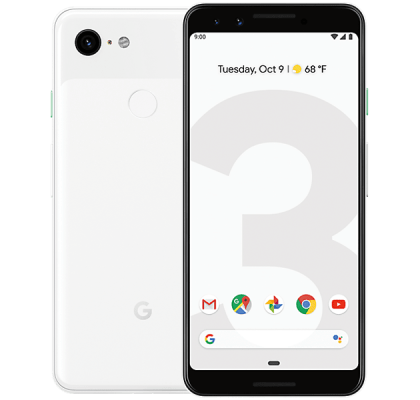 Google Pixel 3 128GB White Vodafone Unltd Allowances for £24 (24m)