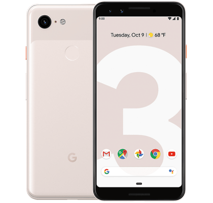 Google Pixel 3 Not Pink 36 months contract