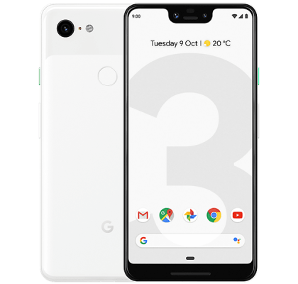 Google Pixel 3 XL 128GB White EE Unltd Allowances for £31 (24m)