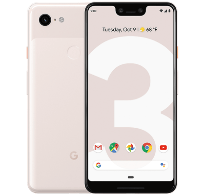 Google Pixel 3 XL Not Pink Three Unltd Allowances for £43 (24m)