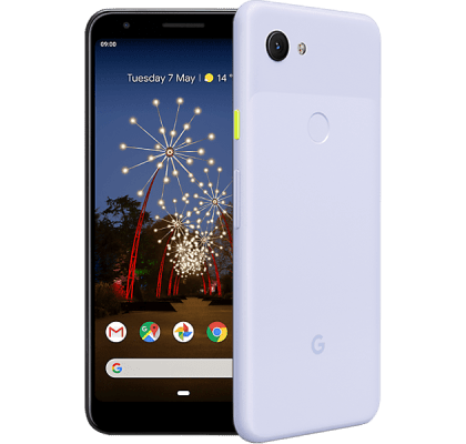 Google Pixel 3a Purple EE Unltd Allowances for £36 (24m)