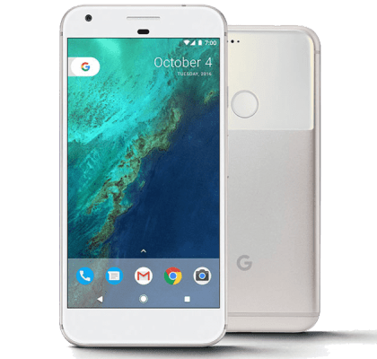 Google Pixel XL 128GB Silver EE 4G Contract
