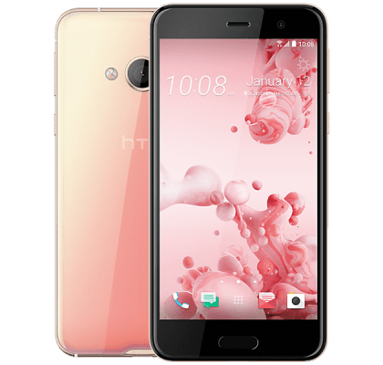 HTC U Play Pink Google Home