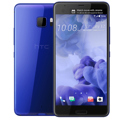HTC U Ultra Blue O2 Mobile Contract