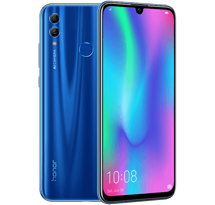 Huawei Honor 10 Lite Blue iDMobile Unltd Allowances for £13.99 (24m)