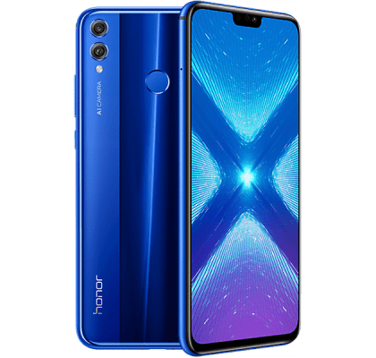 Huawei Honor 8X Blue Guaranteed Cashback