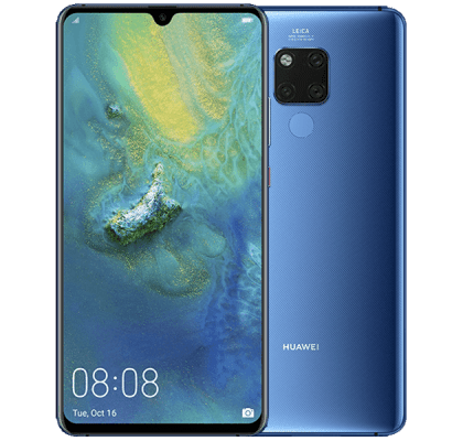 Huawei Mate 20 X Blue Cashback by Redemption