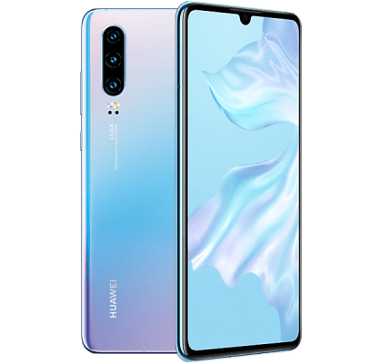 Huawei P30 128GB Crystal iD Mobile Contract