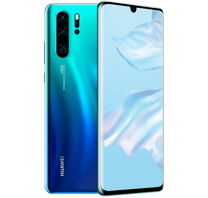 Huawei P30 Pro 128GB Aurora EE Unltd Allowances for £20 (24m)