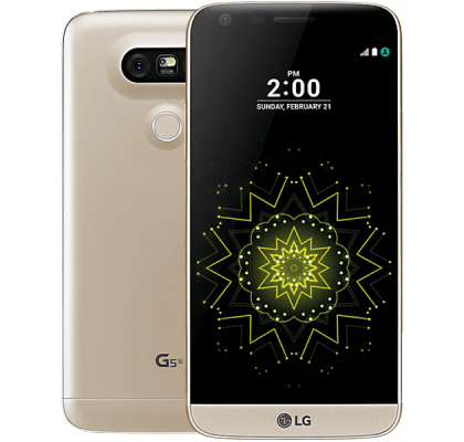 LG G5 SE Gold Apple TV