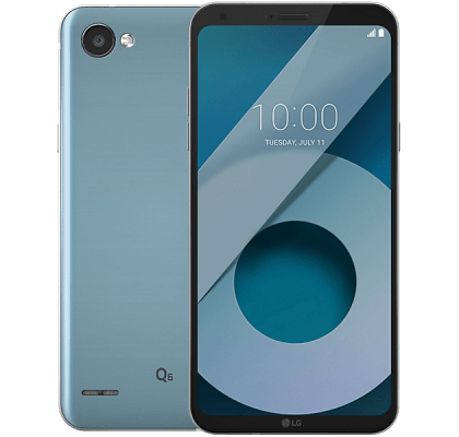 LG Q6 Silver iD Mobile Contract