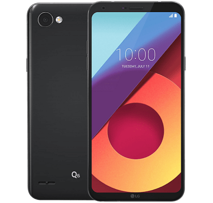 LG Q6 O2 Mobile Contract