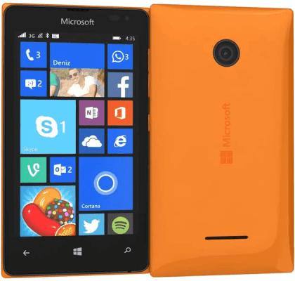 Microsoft Lumia 435 Orange O2 Mobile PAYG