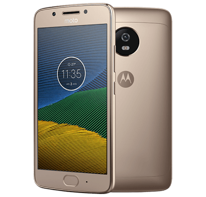 Motorola Moto G5 Gold Laptop