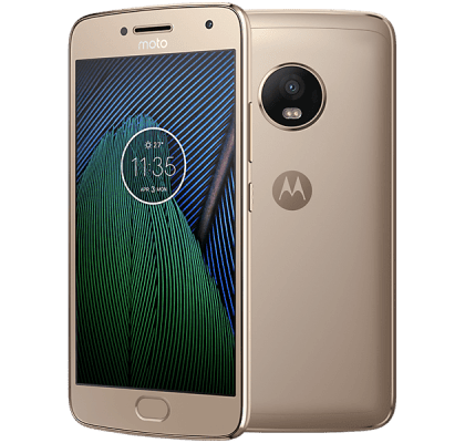 Motorola Moto G5 Plus Gold O2 Mobile Contract
