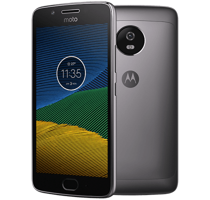 Motorola Moto G5 Nintendo Switch Grey