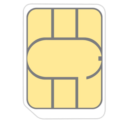 Nano SIM Card GiffGaff Unltd Allowances for £6 (0m)