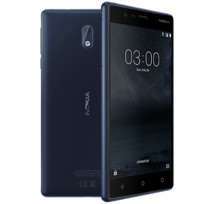 Nokia 3 Blue Three Mobile Contract