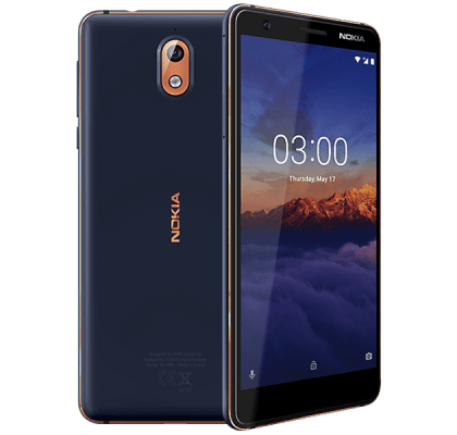 Nokia 3.1 Blue Vodafone Mobile Contract