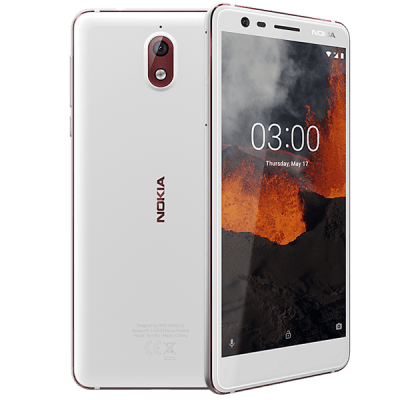 Nokia 3.1 White Cashback by Redemption