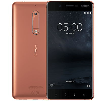 Nokia 5 Copper iPad and Tablet