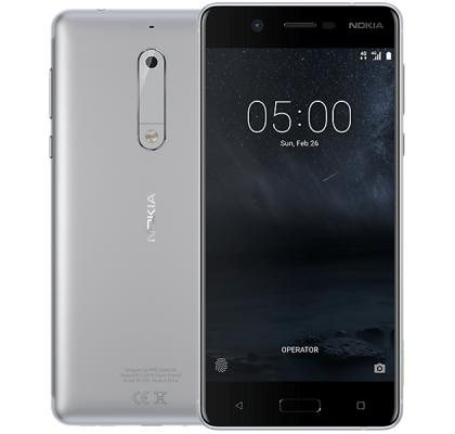 Nokia 5 Silver iPad and Tablet
